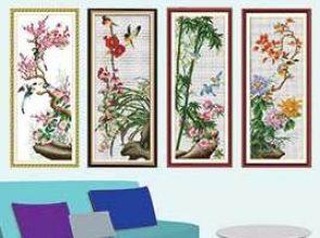 4 Gentlemen Of Flowers (4 noble plants)